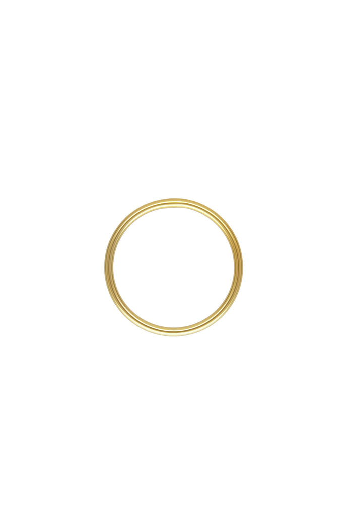 Minimal Stacker Gold Ring US4 - KOOKII B