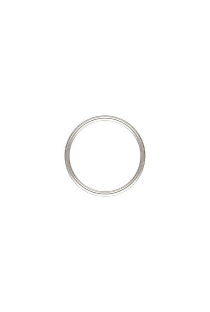 Minimal Stacker Ring US6 - Silver