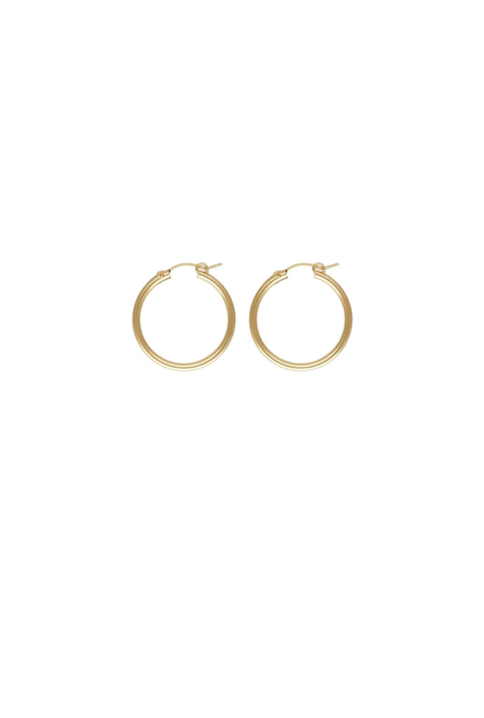 Sivan Midi Gold Hoop Earrings