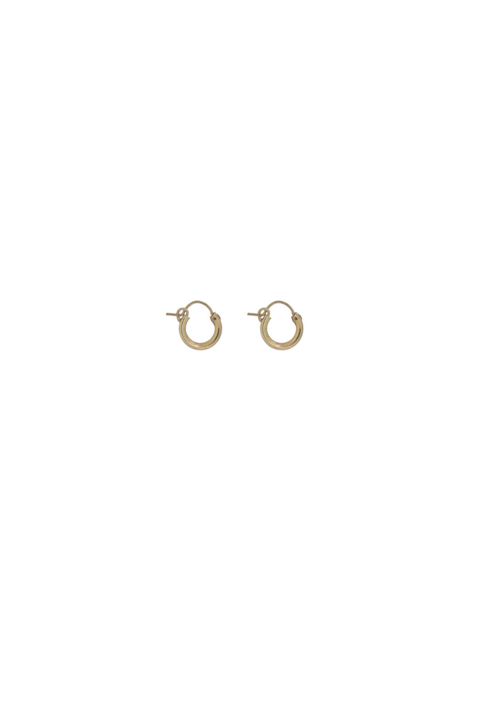 Sivan Mini Gold Hoop Earrings