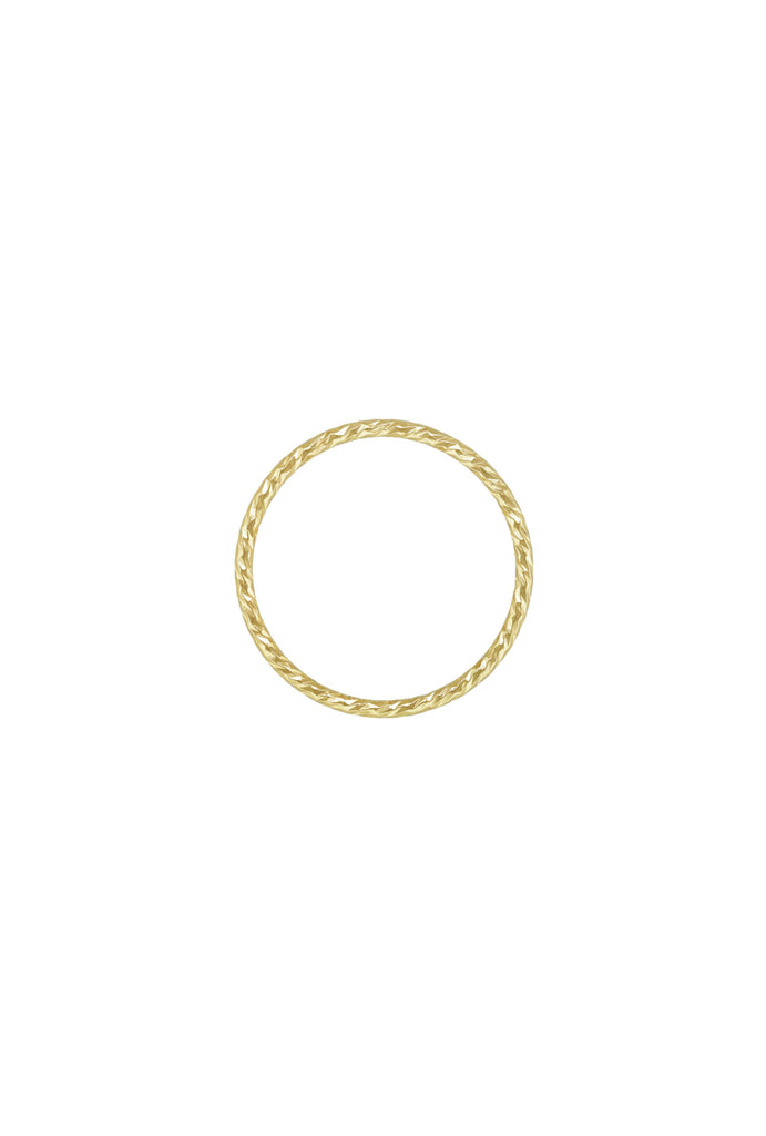 Sparkle Stacker Ring US4 - Gold