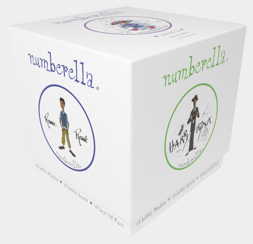 Numberella Deluxe Edition Level 2 Box