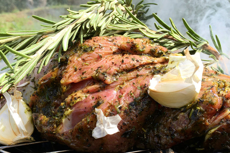 BUTTERFLIED LAMB LEG