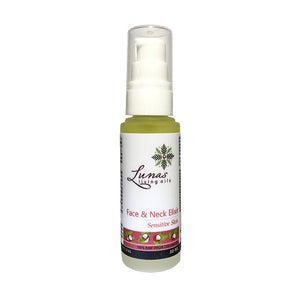 Lunas Living Oils - Face and Neck Elixir Oil for Sensitive Skin 30ml (4549413961762)