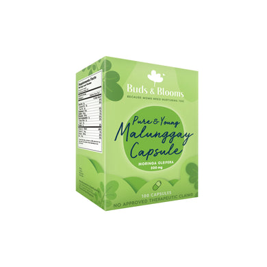 Buds and Blooms - Pure and Young Malunggay Capsules (4517489442850)