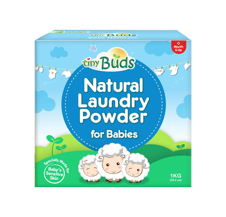 Tiny Buds - Natural Laundry Powder (4514008989730)