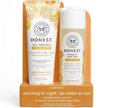 By the Bay - The Honest Company Everyday Gentle Sweet Orange Vanilla Shampoo + Body Wash & Lotion (4828791177250)