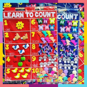 Valiant Toddlers - Educational Felt Charts (4560803528738)