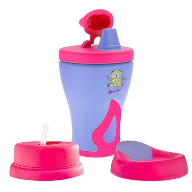 Mimiflo® - 3-in-1 Non-Spill Sippy Cup Set (4550143606818)