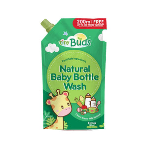 Tiny Buds - Natural Baby Bottle Wash (4514004992034)