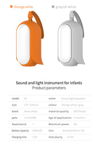 TKO - 2-in-1 Baby Soother Sound Machine (4839148847138)