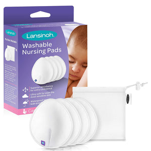 Kids Unlimited - Lansinoh Washable Nursing Pads (4818827608098)