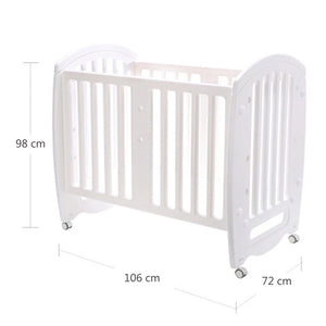 Cuddlebug - Ashley 2 in 1 Mini Crib (4549524652066)