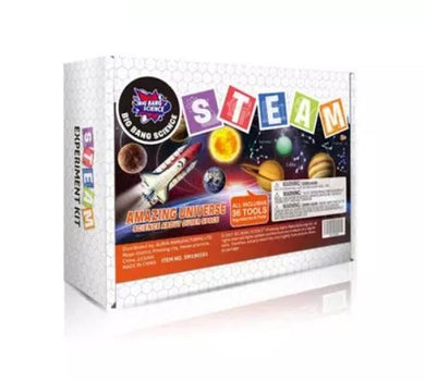 Hello Happy Nina - Big Bang Science STEAM Experiment Kit (Amazing Universe) (4828421390370)