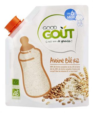 Good GOÛT - Oats Wheat Rice 200g (6 mos) (6543531409442)