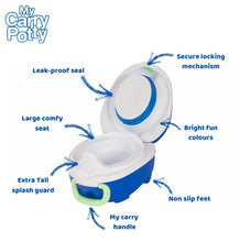Load image into Gallery viewer, My Carry Potty - Toilet Trainer (4529455104034)