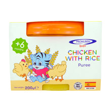 Load image into Gallery viewer, Pronuben Baby - Chicken with Rice Puree (4539055800354)