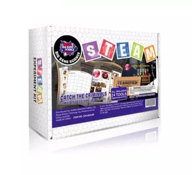 Hello Happy Nina - Big Bang Science STEAM Experiment Kit (Catch The Criminals) (4828421128226)