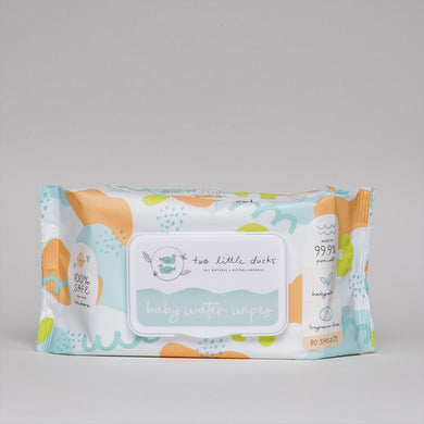 Two Little Ducks - Biodegradable Baby Water Wipes (4514259435554)