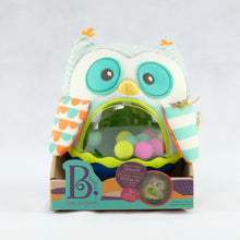 Load image into Gallery viewer, B. Toys - Owl Be Back, Soft Roly Poly Owl (4539066581026)