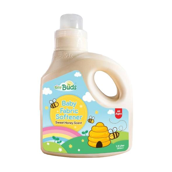 Tiny Buds - Natural Sweet Honey Scent Fabric Softener 1.5 Liter (6544049537058)