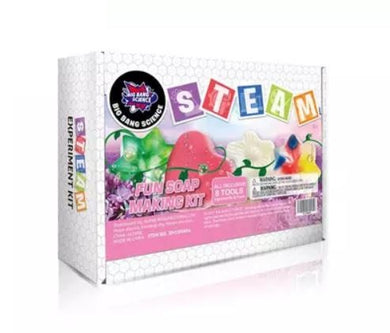 Hello Happy Nina - Big Bang Science STEAM Experiment Kit (Fun Soap Making Kit) (4828421488674)