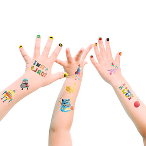 Bebe Bata - Joan Miro Temporary Tattoos & Nail Stickers (4625690591266)