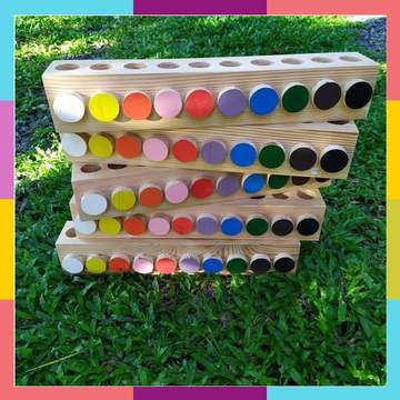 Valiant Toddlers - Montessori Wooden Holder (4560846618658)