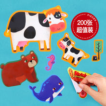 Load image into Gallery viewer, Bebe Bata - Joan Miro Reusable Sticker Play Set (4625689870370)