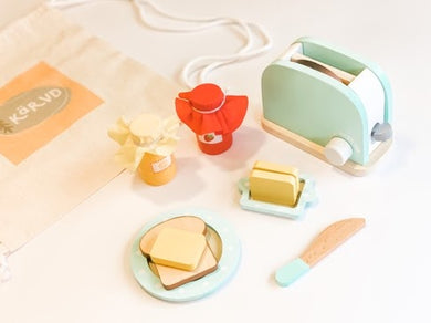 Kärvd MNL - Wooden Toaster Play Set (4820458373154)