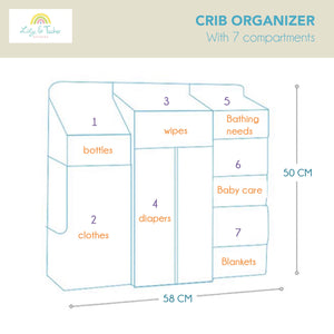 Lily and Tucker Studios - Crib Organizer (4510439178274)