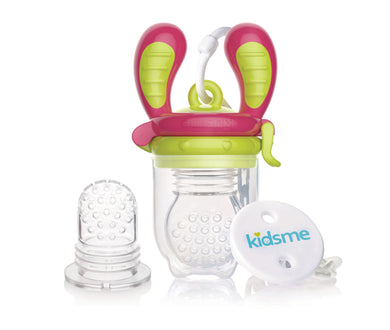 KidsMe - Limited Edition Food Feeder (Lime) (4798142611490)