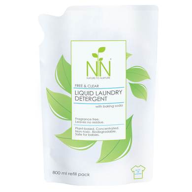 Nature to Nurture - Liquid Laundry Detergent (4564295778338)