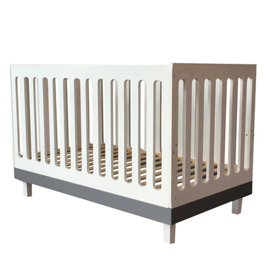 Cuddlebug - Madison 3 in 1 Convertible Crib (4550045630498)