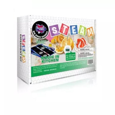 Hello Happy Nina - Big Bang Science STEAM Experiment Kit (Magic In Kitchen) (4828421062690)