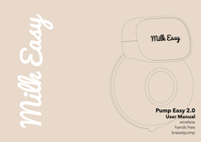 Load image into Gallery viewer, Milk Easy - Pump Easy Hands-free Breast Pump 2.0 (4798498177058)
