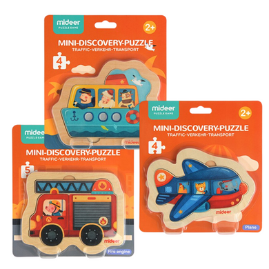 Baby Prime - Mideer Mini Discovery Puzzle Set (4816478994466)