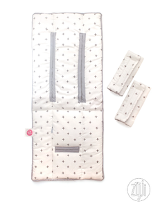 Zyji - Mini Strollerpad Set with 2pcs Strap Pads (4798839881762)