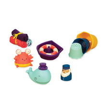 Load image into Gallery viewer, B. Toys - Wee B. Splashy Tub Time Set (4539065368610)