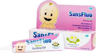 SansFluo - Natural Teething Gel (4544977305634)