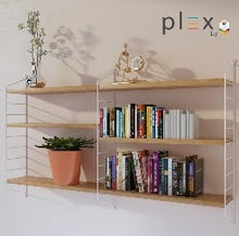 Load image into Gallery viewer, Simply Modular - Plex 3-Level Shelving System (4820457848866)