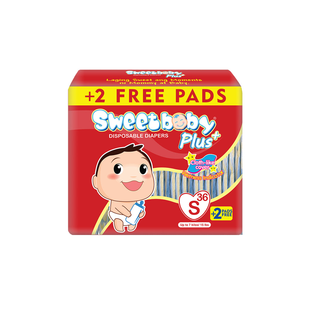 Sweetbaby - Sweetbaby Plus Big Pack Diapers (4561333485602)