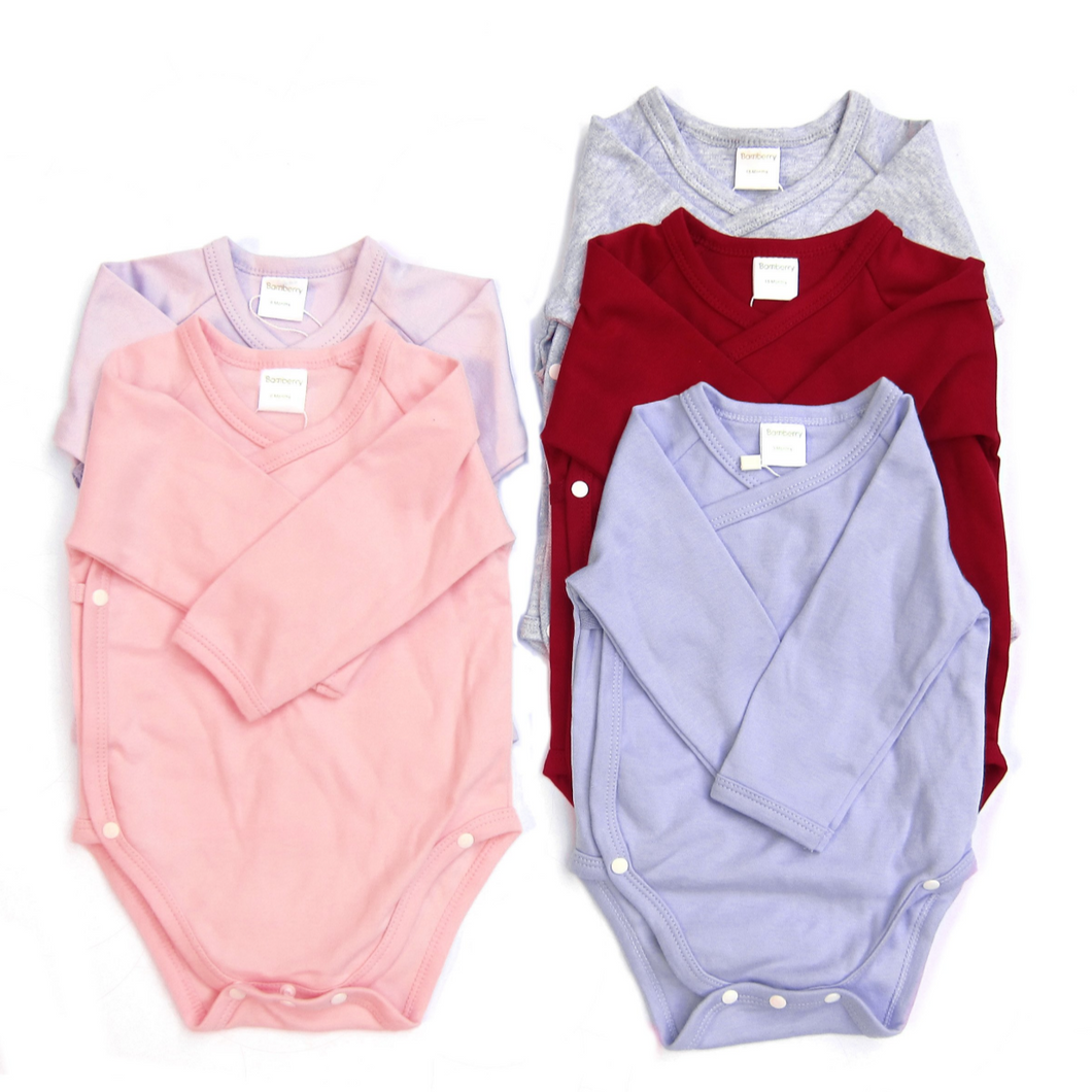 Bamberry - Long Sleeve Cotton Onesie (4560852713506)