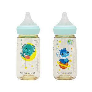 Marcus & Marcus - PPSU Transition Feeding Bottle Twinpack (300ml) (6544507273250)