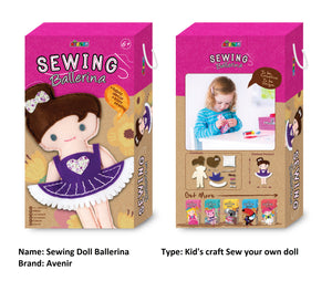 Clean Beauty Society - Avenir Sewing Doll (4532351107106)