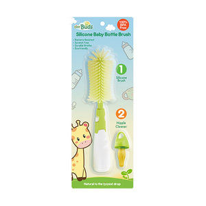 Tiny Buds - Silicone Baby Bottle Brush (4514008170530)