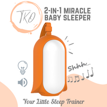 Load image into Gallery viewer, TKO - 2-in-1 Baby Soother Sound Machine (4839148847138)