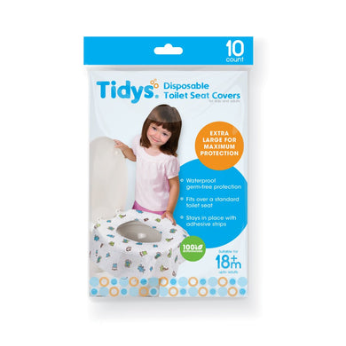 STRATELA - Tidys Disposable Toilet Seat Covers (10s per pack) (4820458897442) (4826082705442)