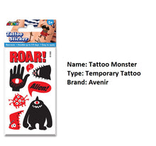 Load image into Gallery viewer, Clean Beauty Society - Avenir Temporary Tattoo (4532354318370)