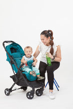 Load image into Gallery viewer, Bunny Bubbles Baby Co. - Smoovin' Compact Travel Stroller (4561677942818)